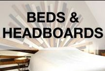 Pallet Beds & Headboards / Ideas of beds & headboards made from recycled pallets. From the most simple bed to the most design one! More inspiration here: http://www.1001pallets.com/diy-pallet-furniture/pallet-beds-headboards/