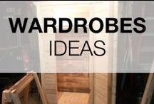 Pallet Wardrobes / A selection of wardrobes made from repurposed pallets. More inspiration here: http://www.1001pallets.com/diy-pallet-furniture/pallet-cabinets-wardrobes/