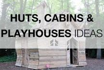 Pallet Huts, Cabins & Playhouses / The best raw material to realize a hut, a cabin or a kid playhouse is with no doubt wooden pallets, what are you waiting to start your next project with repurposed pallets? Find some inspirations for your next garden project on this board. More inspiration here: http://www.1001pallets.com/diy-pallet-garden/pallets-huts-cabins-playhouses/