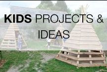 Pallet Projects for Kids / Recycled & upcycled pallet ideas & projects to achieve with your kids or for them. Your kids will love you for sure :) More inspiration here: http://www.1001pallets.com/pallet-kids-projects/