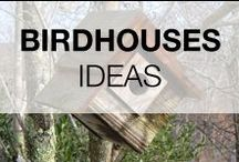 Pallet Birdhouses & Bird Feeders / Birdhouses & bird feeders made from pallet wood, the birds will love you :) More inspiration here: http://www.1001pallets.com/diy-pallet-garden/pallet-animal-houses-supplies/
