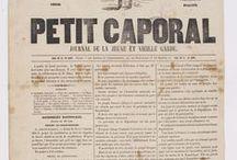Les journaux / Découvrez une sélection de journaux conservés aux Archives nationales