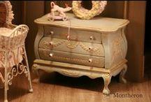 Montheron Dollshouse Miniature Furniture / Dollshouse miniature furniture