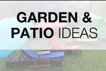 Pallets Garden & Patio / Ideas of repurposed pallets for your garden & patio! More inspiration here: http://www.1001pallets.com/diy-pallet-garden/pallet-terrace-patio/