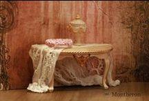 Montheron Dollshouse Miniature Tables