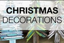 Pallet Christmas Decorations / Are you searching for a pallet idea or project for Christmas? Want to make your next Christmas Tree from repurposed pallets or maybe some decorations from pallets? You on the right board, discover Christmas projects made from wooden pallets!