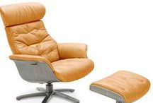 Relaxing Recliners / Nothing matches a reclining chair for comfort and relaxation.