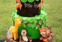 Safari Cake & Party Ideas