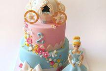 Cindarella Party & Cake