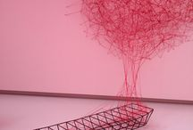 Chiharu Shiota / Special application for Noordbrabants Museum.... really cool!