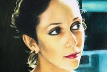 Maria Villioti - portraits and figures