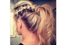 Girl thangs, hair, make up and nails :)