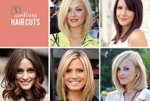 "Medium / Short Hair / ""A woman who cuts her hair is about to change her life"" -Coco Chanel / by Andrea"