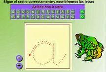 """lectoescritura Interactiva / Actividades interactivas de lectoescritura trabajadas en el aula a través del blog """"Jugando y aprendiendo juntos""""."""