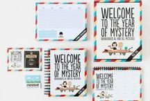 Pack 2016 - Welcome to the year of mystery / Prepárate para un año lleno de misterios a lo #Superbritánico.