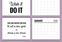 ORGANIZE   planners & checklists / a collection of resources for planner sheets, checklists, stickers and all things to help keep our thoughts, tasks and to-do lists under control.  Staying organized is a great way to create a more balanced enjoyable life.