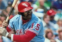 Dick Allen / Richard Anthony Allen. Major League Ballplayer from 1964-1977 with Phillies, Cardinals, Dodgers and Athletics. Seven time MLB All Star. 1964 NL Rookie of the Year. 1972 AL Most Valuable Player.