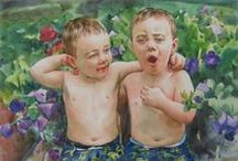 Watercolor Paintings / Trust us - your photos would look sooo much more interesting in watercolor!  / by Paint Your Life