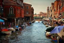 Murano, where I live and work