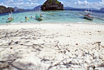 We <3 El Nido / El Nido is one of the most beautiful places in the world! Great landscapes, clear, warm waters & white sand beaches!
