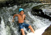 Summer Camp / Ultimate Adventure Day Camp for ages 8-10 and 11-13.  8 am - 5 pm.  Team Development Course with Zip Line, Caving, Canoeing/Kayaking, Climbing and Outdoor Living Skills