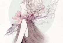 Illustrations. / Fashion Illustrations