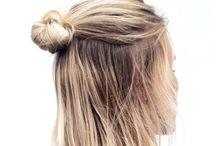 Hair. / Hair Style.