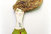 Papier Mache' Infatuation / That's why I'm called Paper Lady.