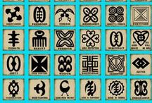 Aphrike Motifs / Designs, symbols and motifs with a sub-Saharan origin.