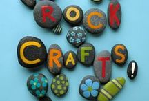 Rocking It! - Crafting With Rocks / Rock art and crafted products.