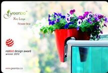 Greenbo XL Railing Flower box