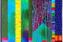 Tactile Textile / Fabric crafts, weaving, quilting.
