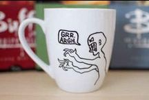 The Geeky Mug / Enjoy your hot butterbeer in some of these bad boys!