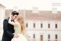 my vintage wedding ❤️ / vintage, wedding, castle, bride, groom, wedding dress,