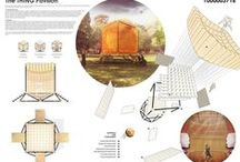 arch_ presentations | boards | competitions / Inspirational boards and layout