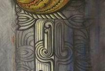 Rorotonga, Tivaevae, Tattoos, carvings and Patterns.