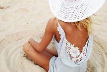 Beach fashion / Beautiful things to wear at the beach