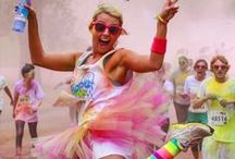 Color Races / Our powder is foremost used in color runs all over the world. Here are some pictures and ideas for race fundraisers.