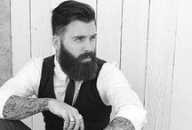 Beards & tattoos / Stylish men with beards et tattoos.