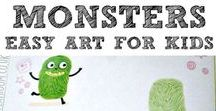 Kids Crafts / Perfect for tiny artists and encouraging creativity.