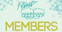 Flint Handmade Members / Current Flint Handmade Members.  If you are interested in becoming a member you can find information here: http://flinthandmade.org/membership/our-members