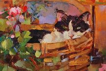 Art--Cats / by Marty Wright