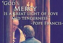 Jubilee of Mercy / Celebrating the Extraordinary Jubilee Year of Mercy, 8th December 2015 - 20th November 2016. #MercifulLikeTheFather