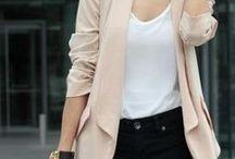 Inspirações de moda para o trabalho / Nada melhor que ter inspirações para trabalhar bem vestida..rs