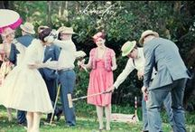 Saturday Afternoon Pretentious Croquet Club / Rules, decoration, clothing, and food ideas for SAP CC