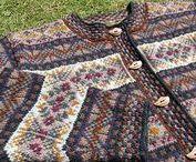 Knitting:Fair Isle and colourwork