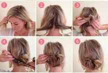 Hair Pictorial / Easy step by step guide on beautiful braids, updos & hairstyles #DIY #easy #braids #updos #hairstyle / by Lynette Tee