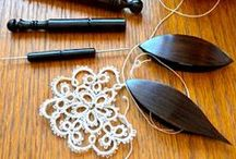 tatting, frywolitki
