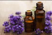 Living well with herbs and essential oils / Herbs, essential oil, lotion, soap, cleaning, and curing.
