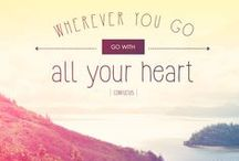 Inspirational Travel Quotes / Collection of pieces that inspire travel :)